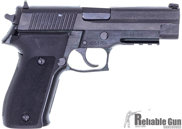 Picture of Used Norinco NP22 Semi-Auto Pistol - 9mm, Black Finish, Lower Rail, Fixed Sights, 2 Mags & Original Box, Excellent Condition