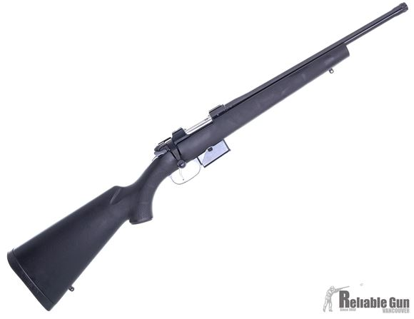 """Picture of CZ 527 Suppressor Line Bolt Action Rifle - 300 AAC/Blackout, 16.5"""", Hammer Forged, Blued, Black Polymer Stock, 5rds, No Sights, Single Set Trigger"""