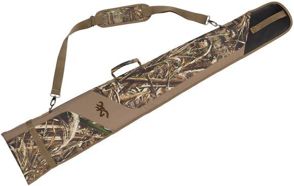 "Picture of Browning Gun Cases, Flexible Gun Cases - Waterfowl Quick Slip Case, 52"", Shotgun, Mossy Oak Shadow Blades Grss, 600 Denier Polyester Canvas"