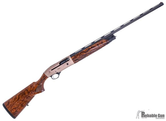"Picture of Used Beretta A400 Xplor Action Semi-Auto Shotgun - 20Ga, 3"", 28"", Vented Rib, Blued, Bronze Receiver, X-Tra Grain Walnut Stock, 4rds, Blink Gas System, OptimaChoke HP Flush, Very Good Condition"