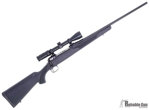Picture of Used Savage Model 111 30-06 sprg Bolt Action Rifle, Blued, Synthetic Stock, Simmons 3-9x40mm, 1 Magazine, Good Condition