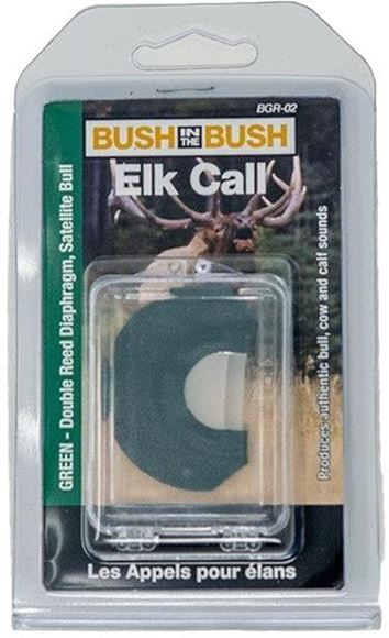Picture of Bush in the Bush Elk Calls, Series II - Green, Double Reed, Satellite Bull