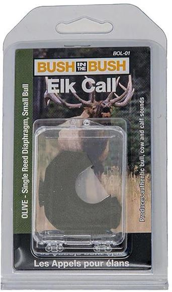 Picture of Bush in the Bush Elk Calls, Series II - Olive, Single Reed, Small Bull