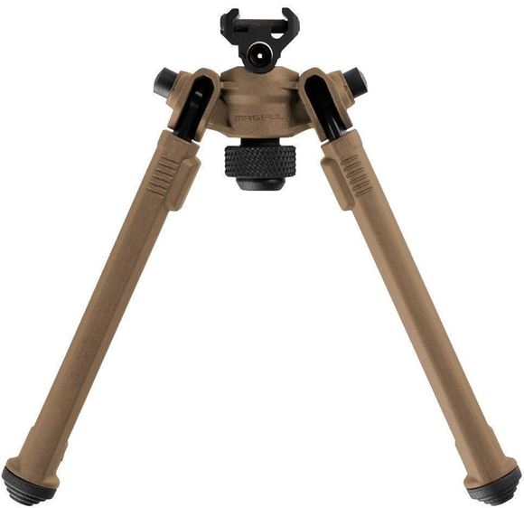 "Picture of Magpul Accessories - Bipod, Picatinny Attachment, Pivot & Transverse, Adjustable 6"" - 10"", FDE"
