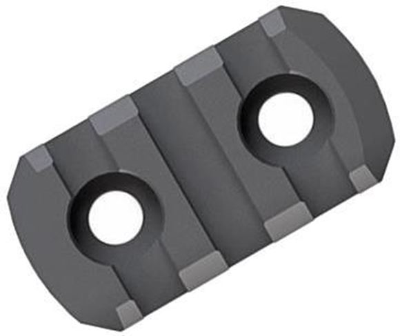 Picture of Magpul Rails - M-LOK Polymer Rail Section, 3 Slots, Black