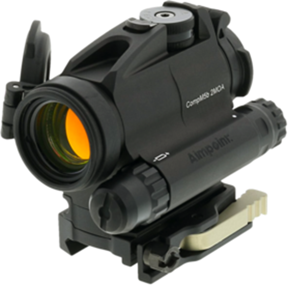 Picture of Aimpoint Red Dot Sights - Comp M5B, 2 MOA, w/ Mount & Tools, AAA Battery, 6 Daylight, 4 Night Vision, Anti-reflex, NVD-Compatible