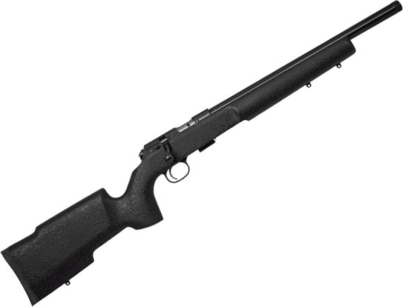 """Picture of CZ 457 Pro Varmint Suppresor Ready Bolt Action Rimfire Rifle - 22 LR, 16.5"""" Heavy Barrel, 1:16"""", Cold Hammer Forged, Threaded, Black Coated Laminate Stock, No Sights, 5rds"""