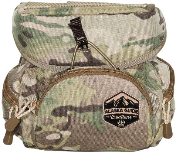 Picture of Alaska Guide Creations Binocular Harness Packs - Alaska Classic Bino Pack, Multi-Cam Camo, Fits Up To 12x50 Binoculars, & Large Rangefinders