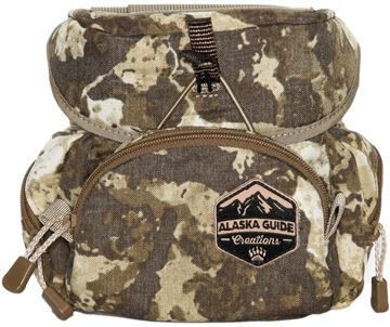 Picture of Alaska Guide Creations Binocular Harness Packs - Kodiak Cub Bino Pack, Cipher Camo, Fits Up To 10x42 Binoculars, & Medium Sized Rangefinders