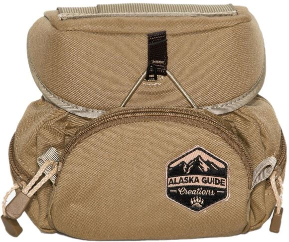 Picture of Alaska Guide Creations Binocular Harness Packs - Kodiak Cub Bino Pack, Coyote Brown, Fits Up To 10x42 Binoculars, & Medium Sized Rangefinders