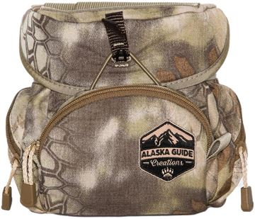 Picture of Alaska Guide Creations Binocular Harness Packs - Kodiak Cub Bino Pack, Kryptek Camo, Fits Up To 10x42 Binoculars, & Medium Sized Rangefinders