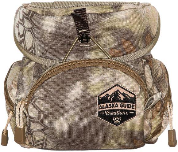 Picture of Alaska Guide Creations Binocular Harness Packs - Kodiak Cub Bino Pack, Kryptek Camo, Fits Up To 10x42 Binoculars, & Medium Sized Rangefinders