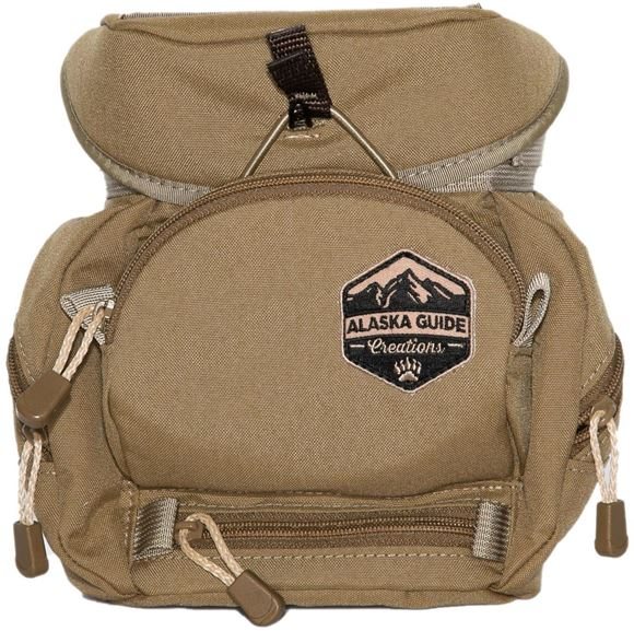 Picture of Alaska Guide Creations Binocular Harness Packs - Kodiak Cub MAX Bino Pack, Coyote Brown, Fits Up To 10x42 Binoculars, & Medium Sized Rangefinders