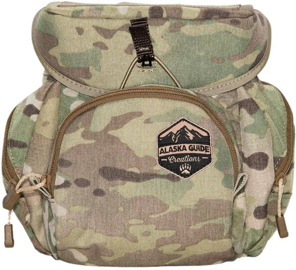 Picture of Alaska Guide Creations Binocular Harness Packs - Denali Bino Pack, Multi-Cam Camo, Fits Up To 15x56 Binoculars, & Extra Large Rangefinders