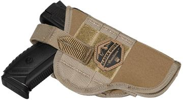 """Picture of Alaska Guide Creations - Pistol Holster - Coyote Brown, 3"""" x 4-1/4"""" x 2-1/2"""""""