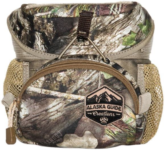 Picture of Alaska Guide Creations Binocular Harness Packs - Hybrid Bino Pack, Mossy Oak Break Up Camo, Fits Up To 10x42 Binoculars, & Medium Sized Rangefinders