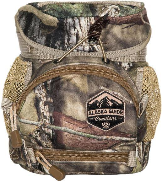Picture of Alaska Guide Creations Binocular Harness Packs - Hybrid With MAX Pocket Bino Pack, Mossy Oak Break Up Camo, Fits Up To 10x42 Binoculars, & Medium Sized Rangefinders