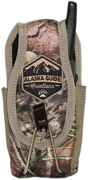 "Picture of Alaska Guide Creations Bino Pack Accessories - In Line Accessory Pouch, Mossy Oak Breakup Camo, 3"" (Width) x 4-7.5"" (Adjustable Height) x 2.5"" (Depth)"