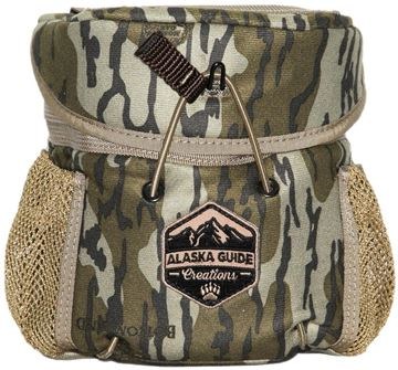 Picture of Alaska Guide Creations Binocular Harness Packs - KISS Bino Pack, Mossy Oak Bottom Lands Camo, Fits Up To 10x42 Binoculars