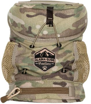 Picture of Alaska Guide Creations Binocular Harness Packs - KISS Max Bino Pack, Multi-Cam Camo, Fits Up To 10x42 Binoculars
