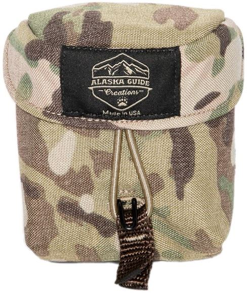 """Picture of Alaska Guide Creations Rangefinder Pouch - Multi-Cam Camo, Rangefinder Pouch, 3 1/2"""" (Width) x 4 1/2"""" (Height) x 2"""" (Depth)"""