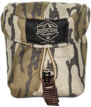 "Picture of Alaska Guide Creations Rangefinder Pouch - Mossy Oak Bottom Lands Camo, Rangefinder Pouch, 3 1/2"" (Width) x 4 1/2"" (Height) x 2"" (Depth)"