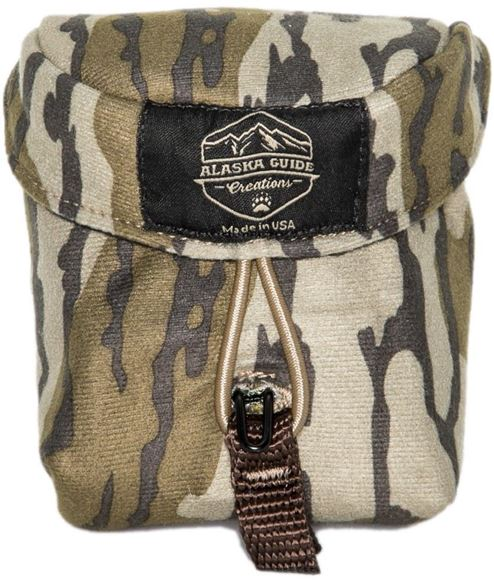 """Picture of Alaska Guide Creations Rangefinder Pouch - Mossy Oak Bottom Lands Camo, Rangefinder Pouch, 3 1/2"""" (Width) x 4 1/2"""" (Height) x 2"""" (Depth)"""