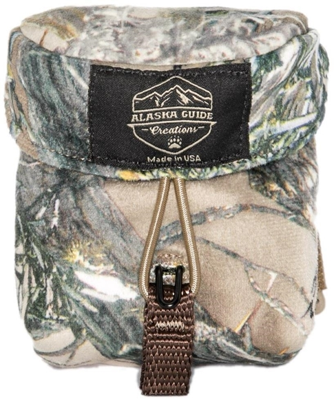 """Picture of Alaska Guide Creations Rangefinder Pouch - True Timber Camo, Rangefinder Pouch, 3 1/2"""" (Width) x 4 1/2"""" (Height) x 2"""" (Depth)"""