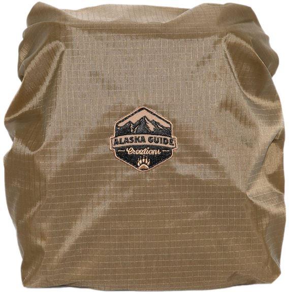 Picture of Alaska Guide Creations Binocular Harness Packs - Nylon BinoShield, Coyote Brown, Fits Most Binoculars