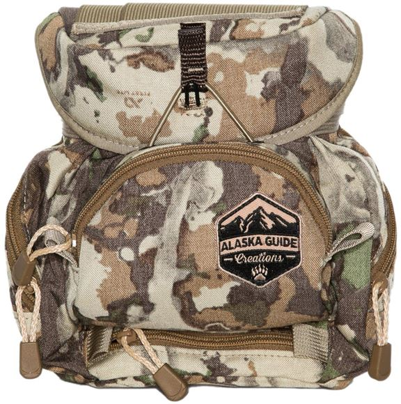 Picture of Alaska Guide Creations Binocular Harness Packs - Kodiak Cub MAX Bino Pack, Fusion Camo, Fits Up To 10x42 Binoculars, & Medium Sized Rangefinders