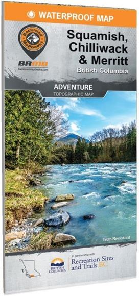 Picture of Backroad Mapbooks, Adventure Map - British Columbia, Chilliwack & Merritt, 2nd Edition