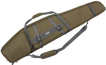 "Picture of Allen Shooting Gun Cases, Rifle Cases - Garrison Rifle Case, 55"", OD Green"