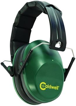 Picture of Caldwell Shooting Supplies Hearing & Eye Protection - Range Muff Low Profile Hearing Protection, 25 NRR