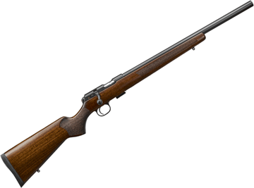 "Picture of CZ 457 Varmint Bolt-Action Rifle - 17 HMR, 20"", Heavy Barrel, Cold Hammer Forged, Walnut Target Stock, Adjustable Trigger, 5rds"