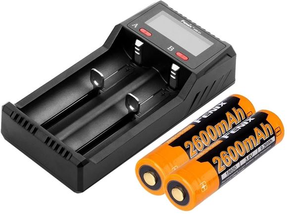 Picture of Fenix Accessories, Battery Charger - ARE-C2, Advanced Multi-Charger, For Li-ion & Ni-MH, Ni-Cd, 100-240V