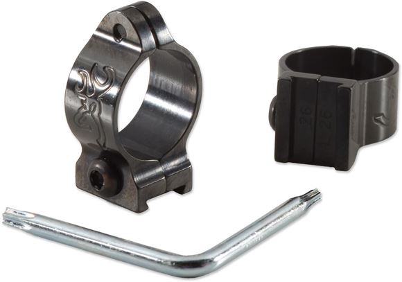 Picture of Browning Rings - 1'', Standard Height, Matte