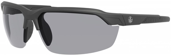 Picture of Leupold Optics, Performance Eyewear, Sunglasses - Tracer Model, Matte Black, Shadow Grey Lenses, Includes: Yellow & Clear Lenses