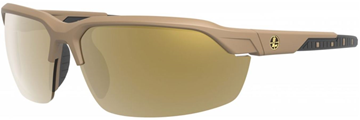 Picture of Leupold Optics, Performance Eyewear, Sunglasses - Tracer Model, Shadow Tan Frame, Bronze Mirror Polarized Lenses, Includes: Yellow & Clear Lenses