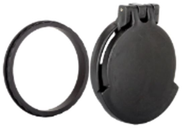Picture of Tenebraex Tactical Tough Cover - Flip Cover with Adapter Ring, Black, Fits Zeiss Conquest 4.5-14x50 Flip Cover - Objective