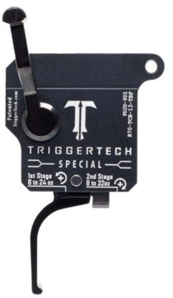 Picture of Trigger Tech, Remington 700 Trigger - Special Frictionless Trigger, Flat, PVD Coating, Two Stage, 1st stage: 8 to 24 oz , 2nd stage: 8 to 32 oz, Right Handed, w/ Safety & Removable Bolt Release