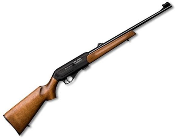 """Picture of CZ 512 Rimfire Semi-Auto Rifle - 22 LR, 20-1/2"""", Hammer Forged, Polycoat, Beech Stock, 5rds, Adjustable Sights"""