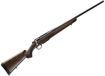 """Picture of Tikka T3X Hunter Bolt Action Rifle - 7mm Rem Mag, 24-3/8"""", Blued, Matte Oiled Walnut Stock, 3rds, No Sights"""