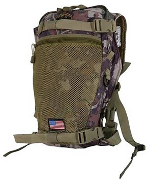 Picture of Alaska Guide Creations Hydration Packs - Stalker Backpack Add On, Cipher Camo, Fits Up To 3L Bladder(Not Included)