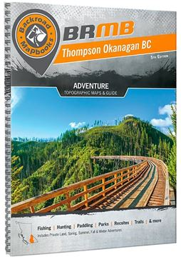 Picture of Backroad Mapbooks, Backroad Mapbook - British Columbia, Thompson Okanagan BC, Western Canada, 5th Edition