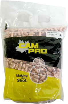 Picture of Cam Pro Bullets - 9mm, 158gr. FCP RNFP, 1000 pcs