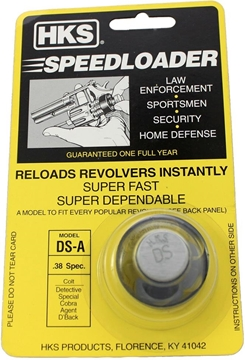 Picture of HKS Speedloaders - 38 Special, For Colt Models: Agent, Cobra, Detective Special, Diamondback