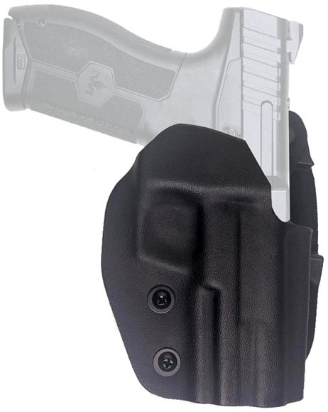 Picture of IWI Masada 9 Accessories, Holsters - Masada 9 OWB (Outside Waistband) Holster, Paddle Style Belt Clip, Black