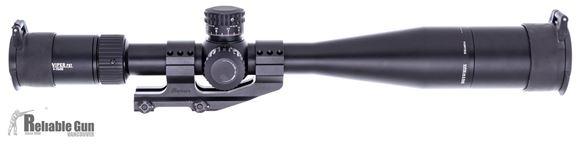 Picture of Used Vortex Optics, Viper PST Riflescope - 5-25x50mm, 30mm, FFP, 0.1 MRAD Adjustment, w/ Burris PEPR QD Mount, Sun Shade, Vortex Flip Caps, Excellent Condition