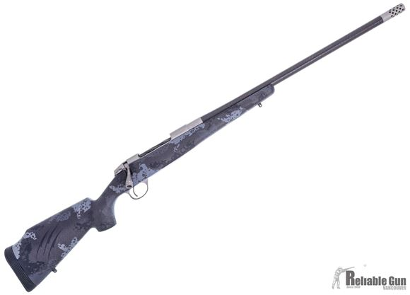 "Picture of Fierce Firearms Edge CT Bolt Action Rifle - 300 PRC, 24"" C3 Carbon Barrel, Grey Cerakote Finish, 1:8"" Twist, Carbon Grey/Black Phantom Stock, Titanium Muzzle Brake & Cap, 70 Deg Bolt Throw, 3rds, 6.1lbs"