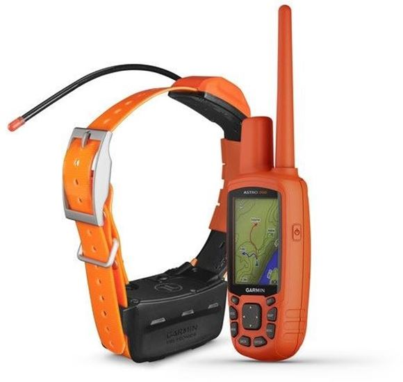 """Picture of Garmin, Tri-Tronics, Dog Training - Astro 900 & T9 Combo, Astro 900, Pre-loaded Topo Mapping, GPS, GeoFence 2.6"""" Color Display, IPX7 Water Rating, T9 Dog Device, 1 ATM Water Rating, 2.5 Sec Update Rate, LED Beacon Lights, Reserve Mode"""
